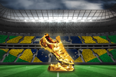 Brazilian Série A golden boot trophy