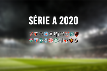 Brazilian Série A football clubs logos of the 2020 edition