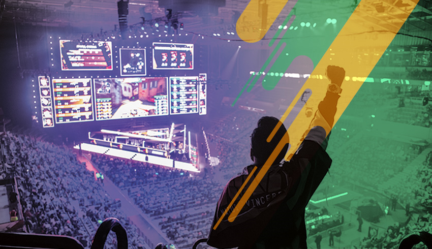 Counter-Strike: GO FLASHPOINT eSports tournament crowd