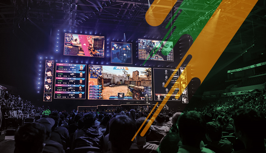 Counter-Strike: GO NumberOne live tournament's crowd