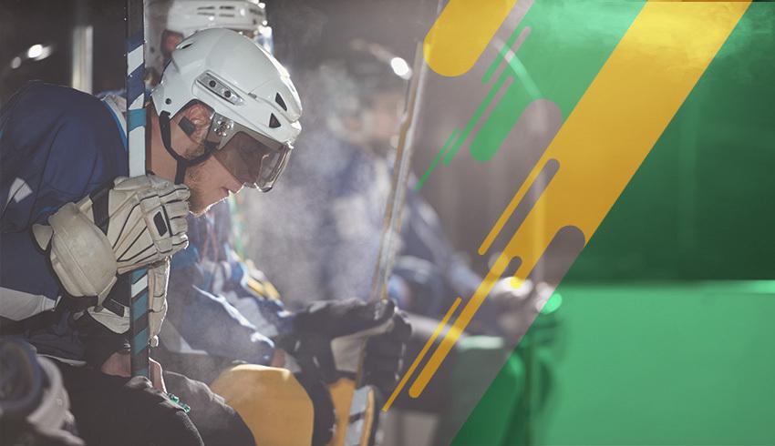 SM-Liiga Finnish ice hockey players in the bench