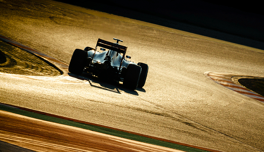 Lewis Hamilton Formula 1 car