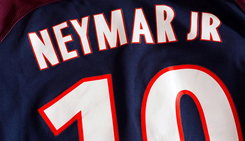 Neymar's PSG shirt