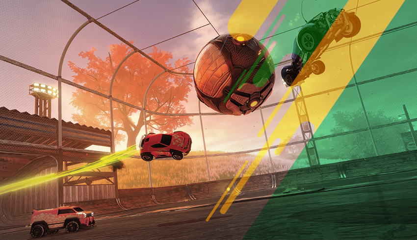 Rocket League Championship Series The Grid gameplay