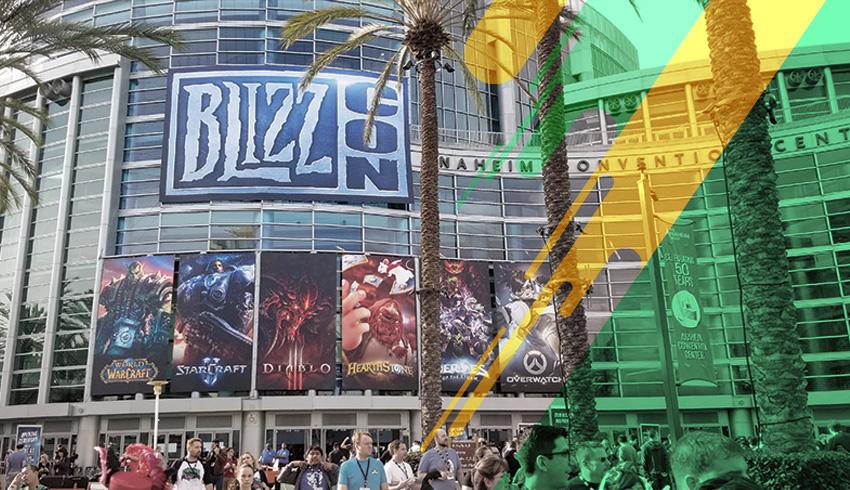 Warcraft 3 Gold League tournament's arena entrance