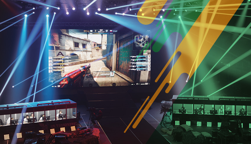 eSports tournament of Counter-Strike: GO Nine to Five Cup during play time