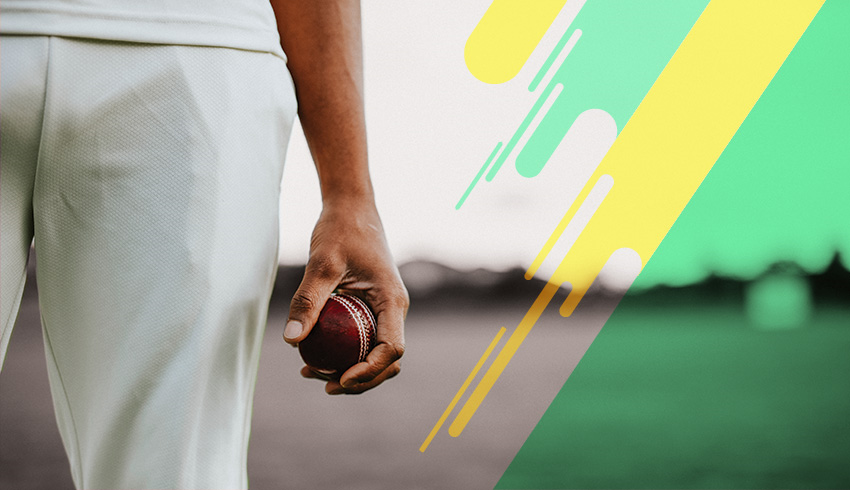 Indian Premier League player holding cricket ball