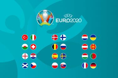 Euro 2020 first round games schedule