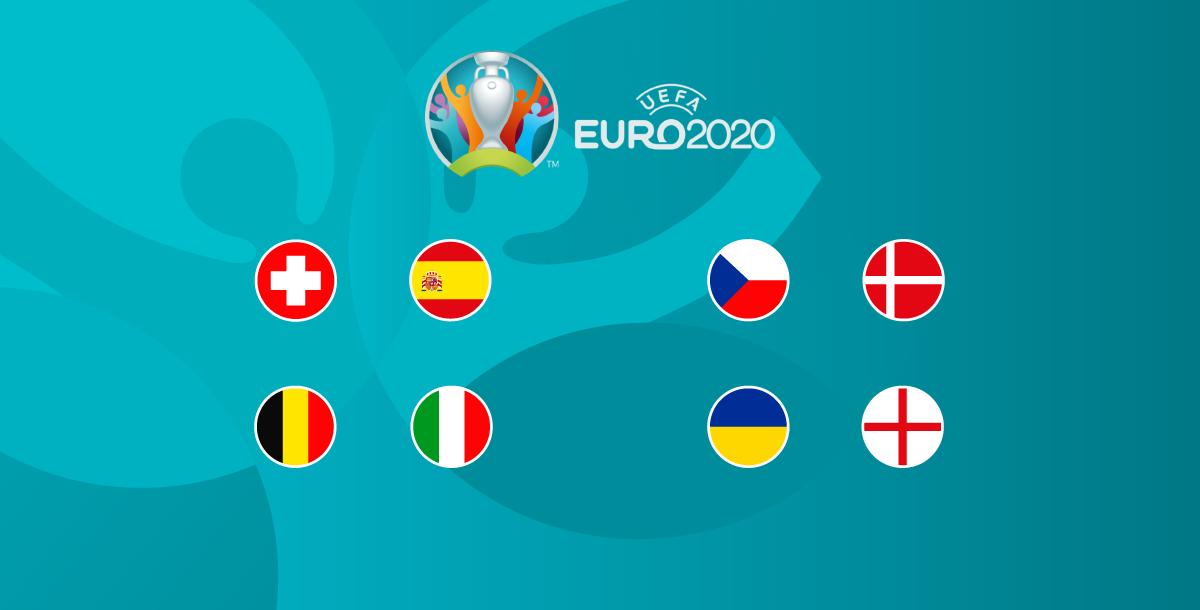 quarter finals matches euro 2020