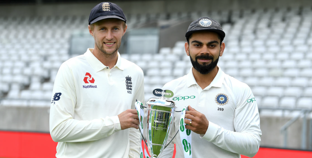 England vs India Test Series