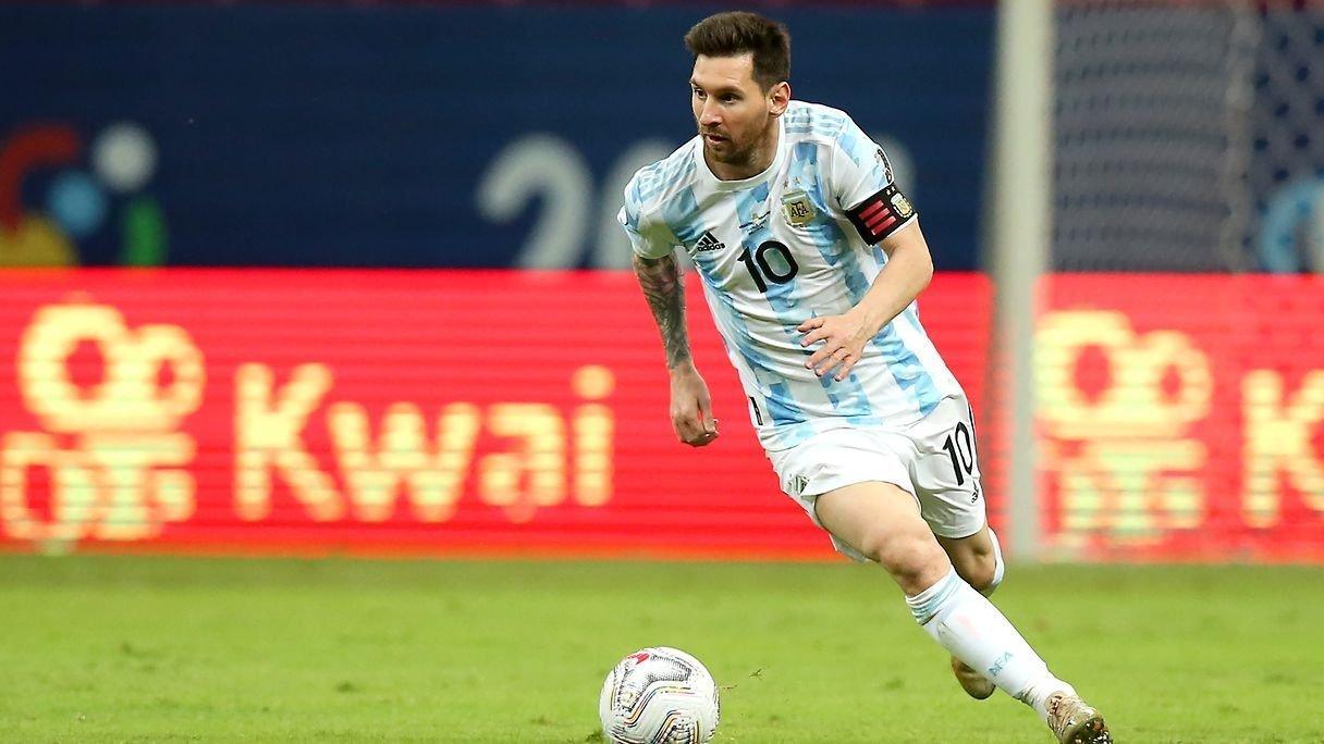 messi at argentina